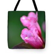 Pink Weigela Tote Bag
