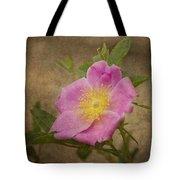 Pink Wild Rose Tote Bag