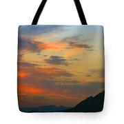Pinnacle Peak Sunset Tote Bag