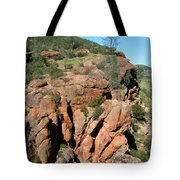 Pinnacles Outcropping Photograph Tote Bag
