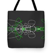 Pinstripes Tote Bag