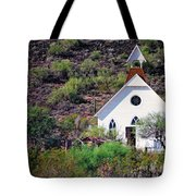 Pioneer Church Tote Bag