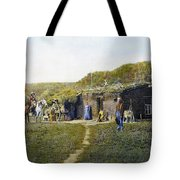 Pioneers Sod House, 1887 Tote Bag