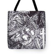 Pirate Monkey Squid Clam Tote Bag