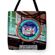 Pirates Alley Cafe Tote Bag by Bill Cannon