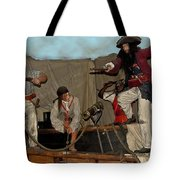 Pirates Of Peril Tote Bag by DigiArt Diaries by Vicky B Fuller