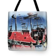 Pirates Ransom - Clearwater Florida Tote Bag