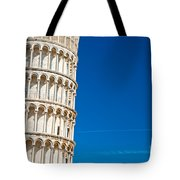 Pisa Leaning Tower Tote Bag