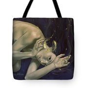 Pisces From Zodiac Series Tote Bag