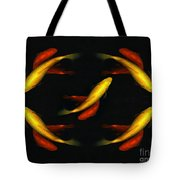 Pisces Times Five Tote Bag