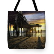 Pismo Beach Pier IIi Tote Bag