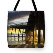 Pismo Pier Sunset IIi Tote Bag