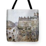 Pissarro: Theatre Francais Tote Bag