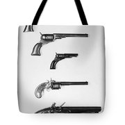 Pistols And Revolvers Tote Bag