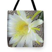 Pitaya Flower Tote Bag