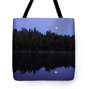 Pitkajarvi Nightscape Tote Bag