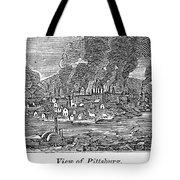 Pittsburgh, 1836 Tote Bag