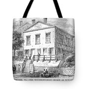 Pittsburgh: Church Tote Bag by Granger