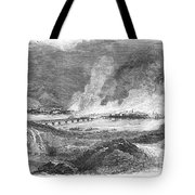 Pittsburgh: Fire, 1845 Tote Bag