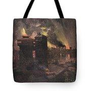 Pittsburgh: Furnaces, 1885 Tote Bag