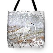 Pixel Cowbird Tote Bag