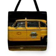 Pixel Taxi Tote Bag