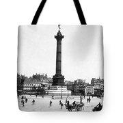 Place De La Bastille Tote Bag