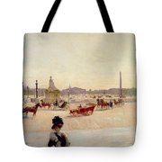 Place De La Concorde - Paris  Tote Bag