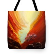 Place In Paradise Tote Bag