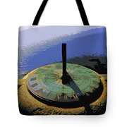 Place Time Dimension Tote Bag