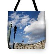 Place Vendome. Paris. France. Tote Bag
