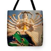 Plai Laem Buddha Tote Bag