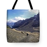 Plain Of Six Glaciers Trail - Lake Louise Canada Tote Bag