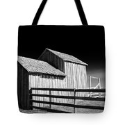 Plains Frontier Farm And Windmill Tote Bag