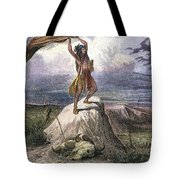 Plains Native American: Signal, 1873 Tote Bag
