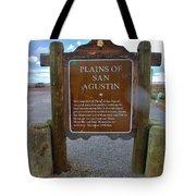 Plains Of San Agustin Tote Bag