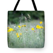 Plains Yellow Daisy Tote Bag