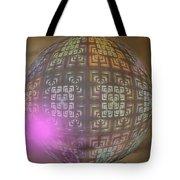 Planet X321z4 Tote Bag