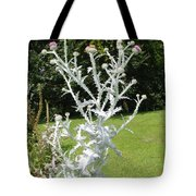 Plant And Flowers Tote Bag