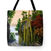 Plants Of The Triassic Period Tote Bag