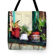 Plants On Porch Tote Bag