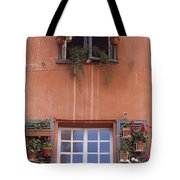 Plants On Window Sill Tote Bag
