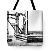 Platform Scale, C1900 Tote Bag