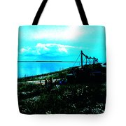 Play Between Heaven Water And Earth Tote Bag