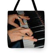 Play Me A Song Piano Man Tote Bag