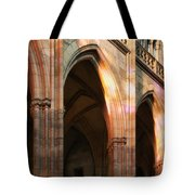 Play Of Light And Shadow - Saint Vitus' Cathedral Prague Castle Tote Bag