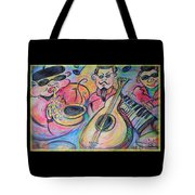 Play The Blues Tote Bag