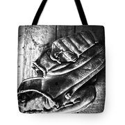 Playing Catch  Tote Bag by Empty Wall
