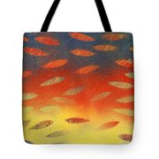 Playing Colorful Games Tote Bag