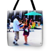 Playing For A Pretty Girl - New Orleans Tote Bag